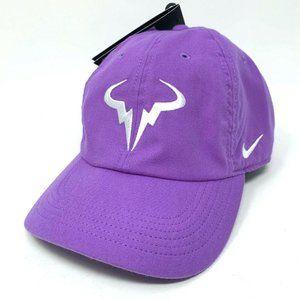 Nike Rafael Nadal Tennis Rafa Aerobill Purple Hat